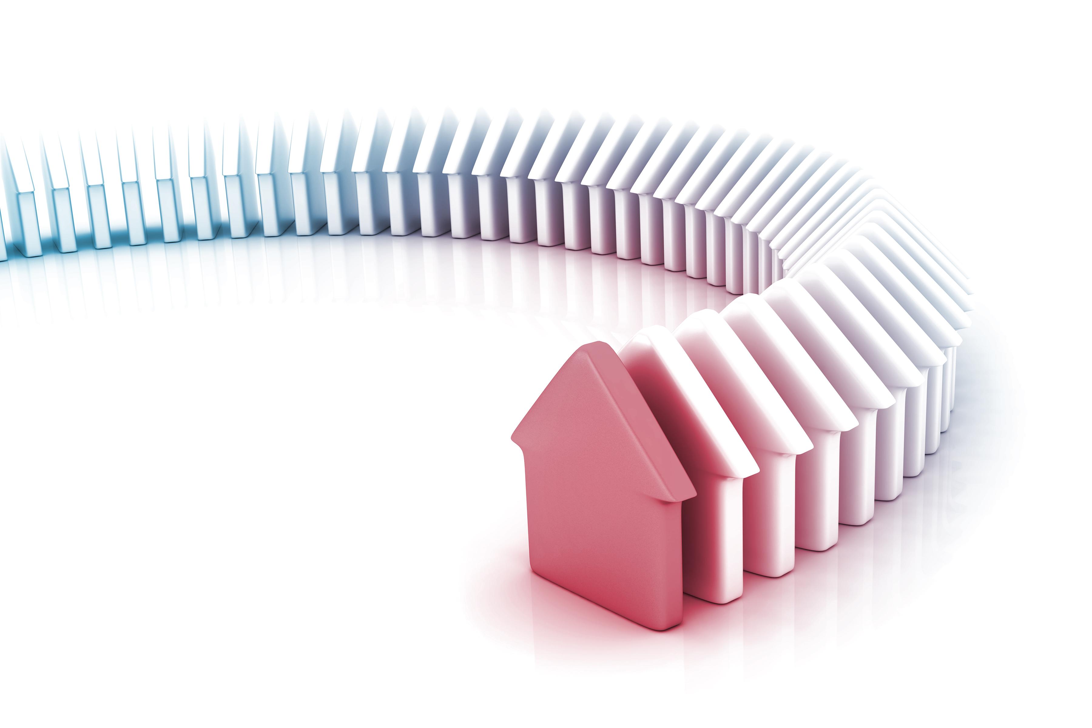 House Market conceptual image.